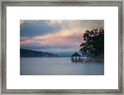 Meredith New Hampshire Framed Print