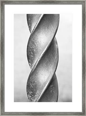 Metal Spiral Framed Print