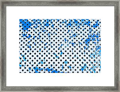 Metal Surface Framed Print by Tom Gowanlock