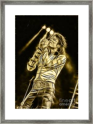 Michael Jackson Collection Framed Print by Marvin Blaine