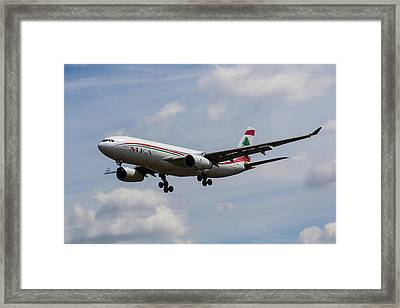 Middle Eastern Airlines Airbus A330 Framed Print