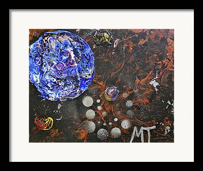 Metagalactic Space Framed Prints