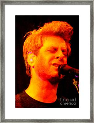 Mike Gordon Framed Print