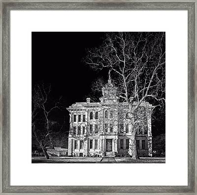 Milam County Courthouse Framed Print by Mountain Dreams