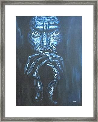 Miles Framed Print by Shahid Muqaddim