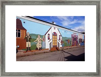 Military Street Art Framed Print by Robert Braley
