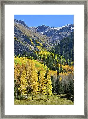 Framed Print featuring the photograph Million Dollar Highway  by Ray Mathis