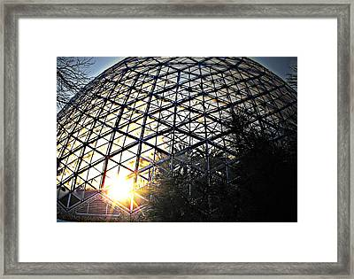 Milwaukee Sunset Framed Print by Terence McSorley