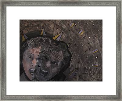 2 Minute Hate Framed Print by Daniel Hart
