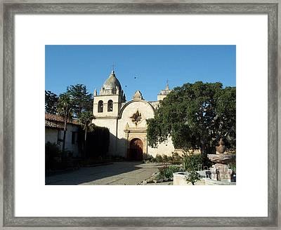 Mission Carmel Framed Print