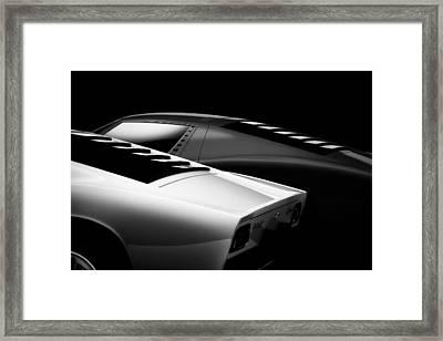 2 Miura Framed Print