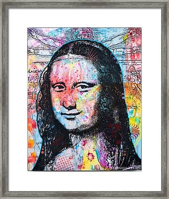 Mona Lisa Framed Print by Dean Russo