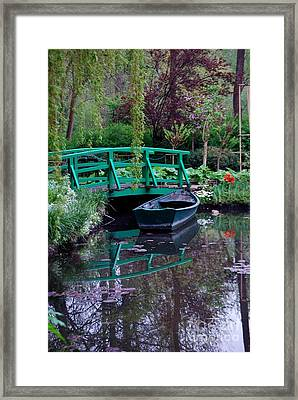 Monet Framed Print by Nancy Bradley