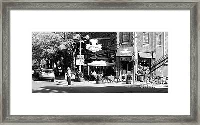 Montreal Street Photography Framed Print by Reb Frost
