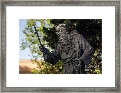 Framed Print featuring the photograph Monument To Fray Pablo De Cadiz Alameda Apodaca Cadiz Spain by Pablo Avanzini
