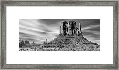 Monument Valley Framed Print by Mike McGlothlen
