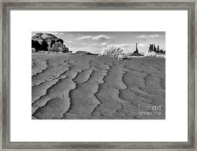 Monument Valley Navajo Tribal Park Framed Print by Thomas R Fletcher