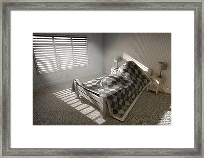 Morning Sleep In Framed Print by Allan Swart