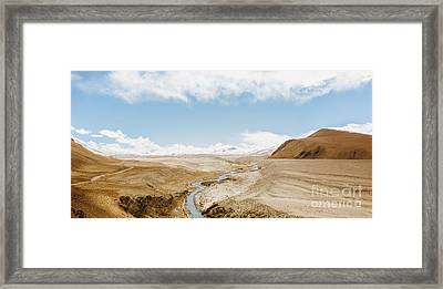 Framed Print featuring the photograph Mount Everest by Setsiri Silapasuwanchai