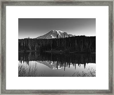 Mount Rainier National Park Framed Print