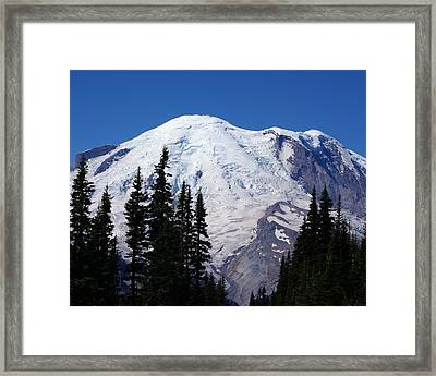 Mount Rainier Framed Print by Sonja Anderson