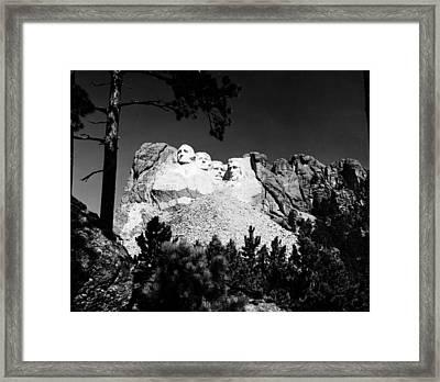 Mount Rushmore Framed Print by Granger