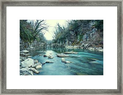 Mountain River Framed Print by Svetlana Sewell
