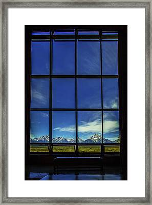 Mountain View Framed Print by Andrew Soundarajan