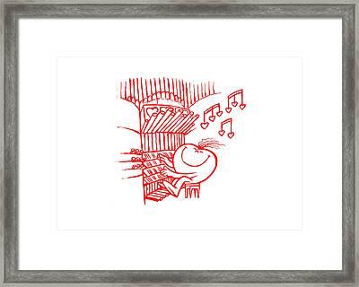 Mr Redhair Serie Framed Print by Nato  Gomes