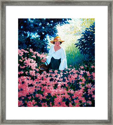 Mulberry Time Framed Print by Kevin Lawrence Leveque