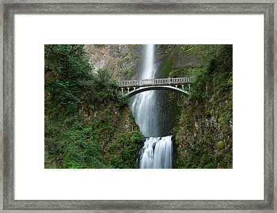 Multnomah Falls Framed Print by Eric Foltz