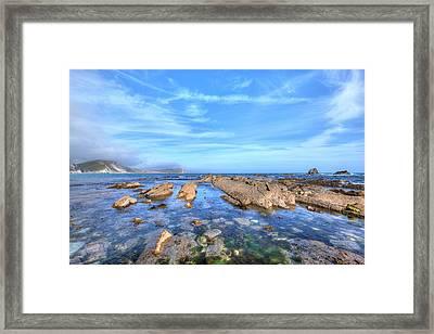 Mupe Bay - England Framed Print