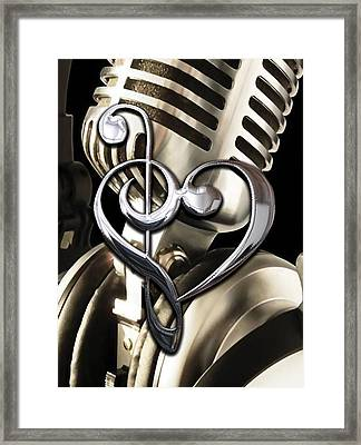 Musical Heart Collection Framed Print