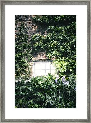 Mysterious Window Framed Print by Joana Kruse