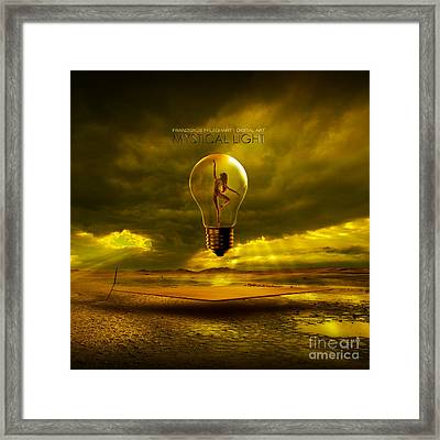 Mystical Light Framed Print by Franziskus Pfleghart