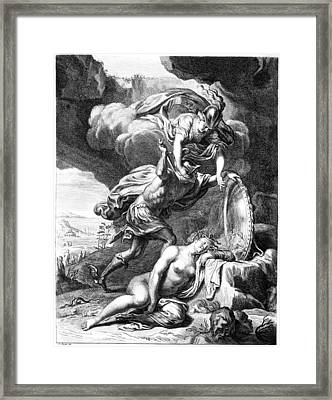 Mythology: Perseus Framed Print by Granger