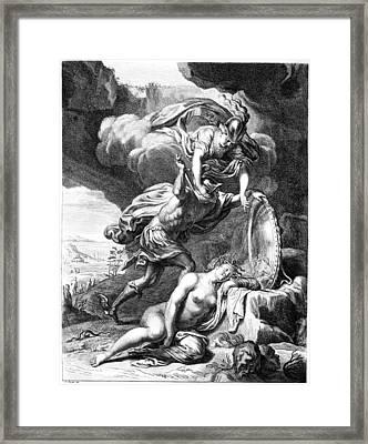Mythology: Perseus Framed Print by Granger