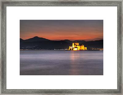 Nafplio - Greece Framed Print by Constantinos Iliopoulos