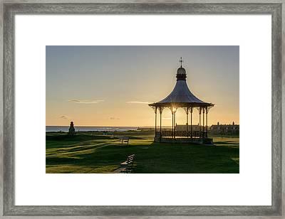 Nairn Bandstand Framed Print