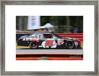 Chevy Camaro  Racing Framed Print