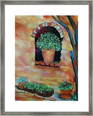 Nash's Courtyard Framed Print