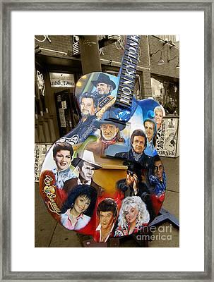 Nashville Honky Tonk Framed Print