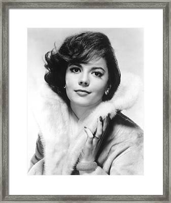 Natalie Wood, 1960s Framed Print by Everett