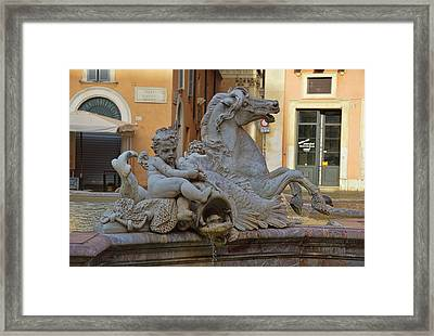 Neptune's Fountain Framed Print by JAMART Photography