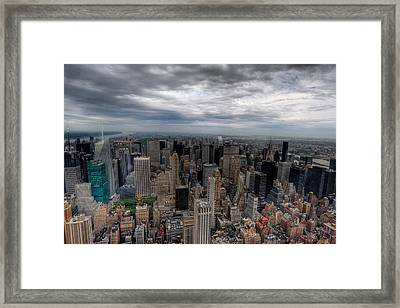 New York New York Framed Print