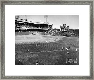 New York: Polo Grounds Framed Print