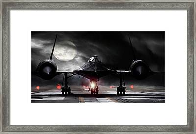 Night Moves Framed Print