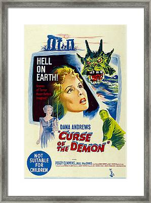 Night Of The Demon, Aka Curse Of The Framed Print