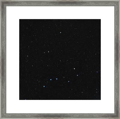 North Celestial Pole Framed Print by Eckhard Slawik