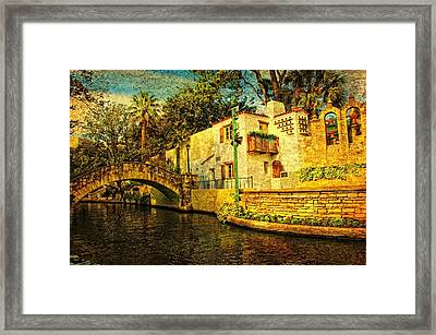 Nostalgia Framed Print by Iris Greenwell